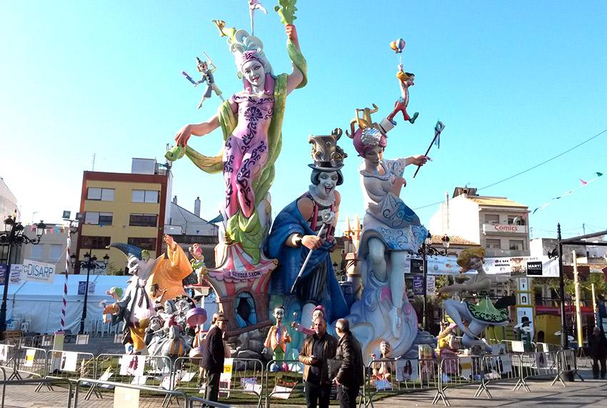 Gandía, uno de los lugares para celebrar las Fallas de Valencia