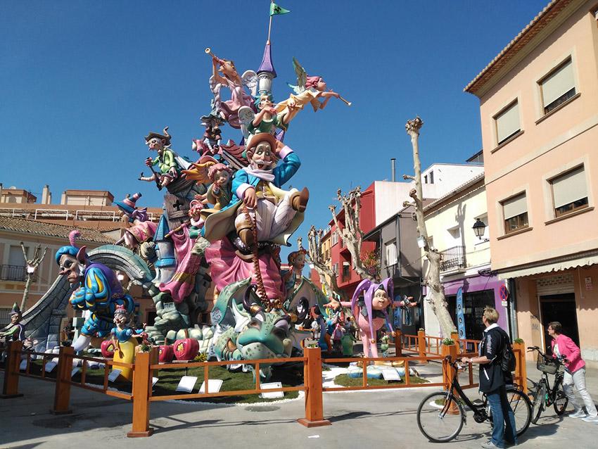 Denia, uno de los lugares para celebrar las Fallas de Valencia