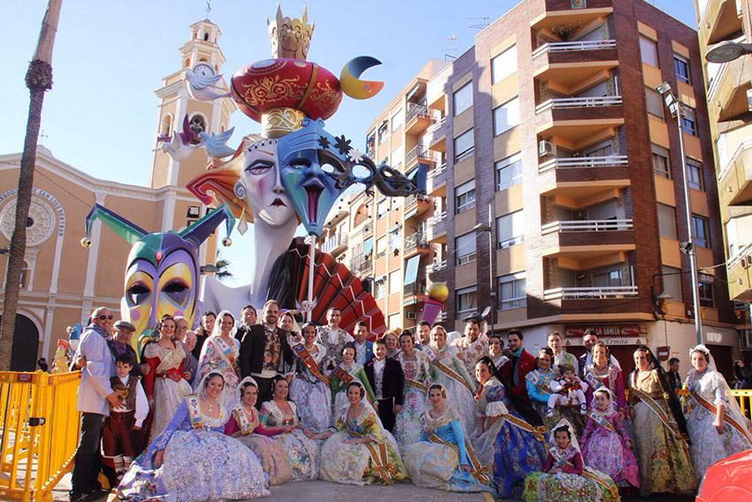 Cullera, uno de los lugares para celebrar las Fallas de Valencia