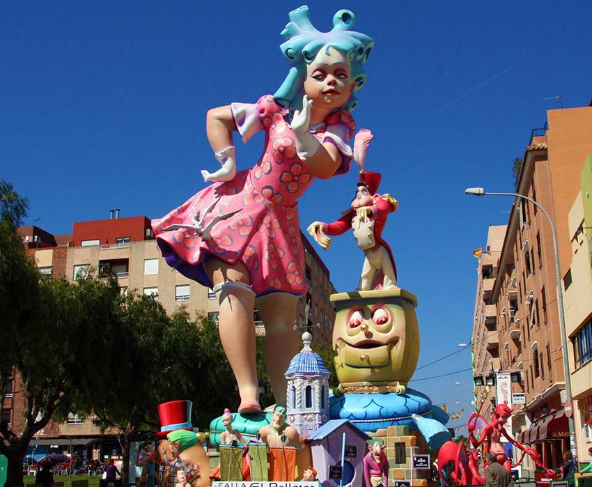 Sagunto, uno de los lugares para celebrar las Fallas de Valencia