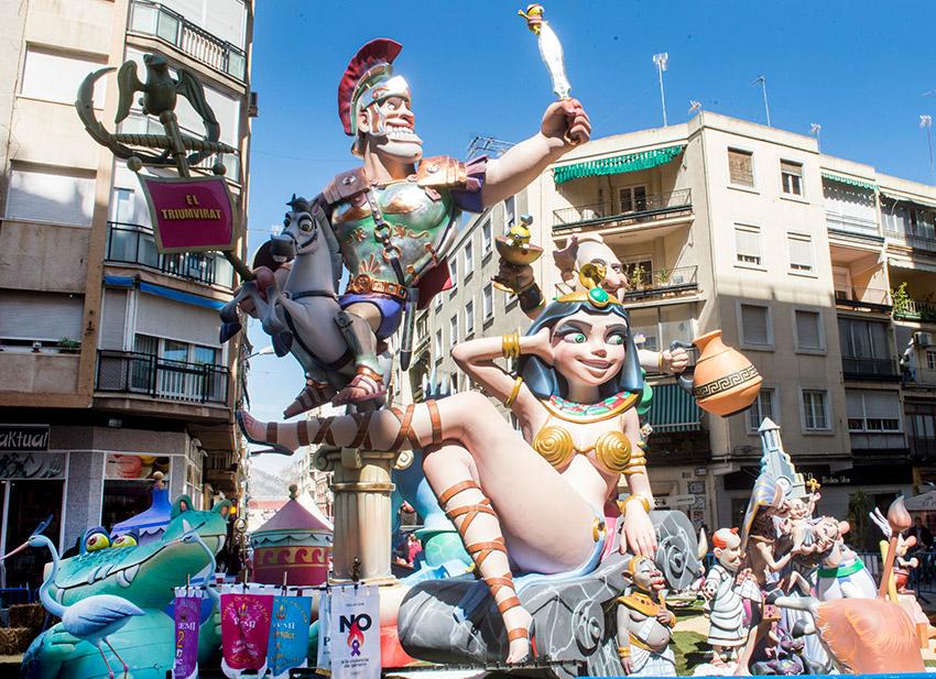 Xátiva, uno de los lugares para celebrar las Fallas de Valencia