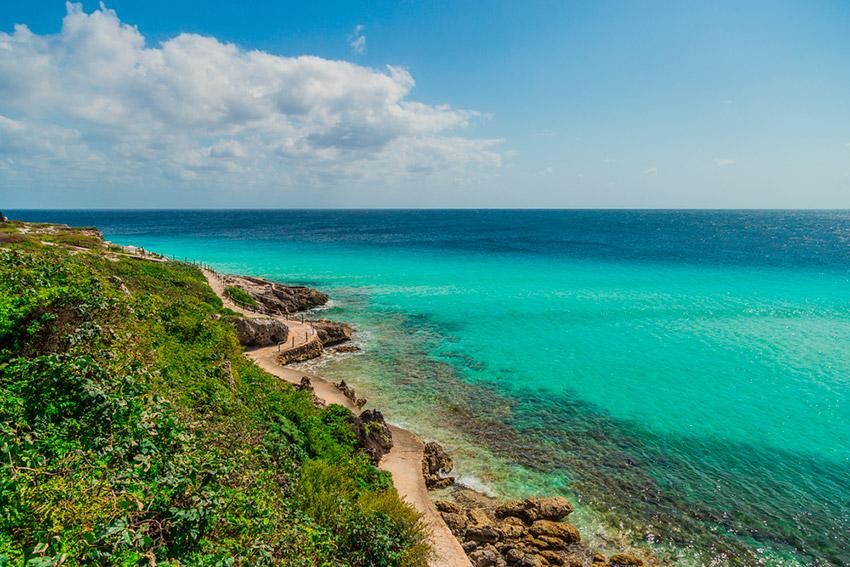 Isla Mujeres, uno de los lugares donde viajar con tu hermana