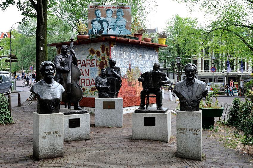 El Barrio Jordaan, uno de los sitios secretos en Ámsterdam