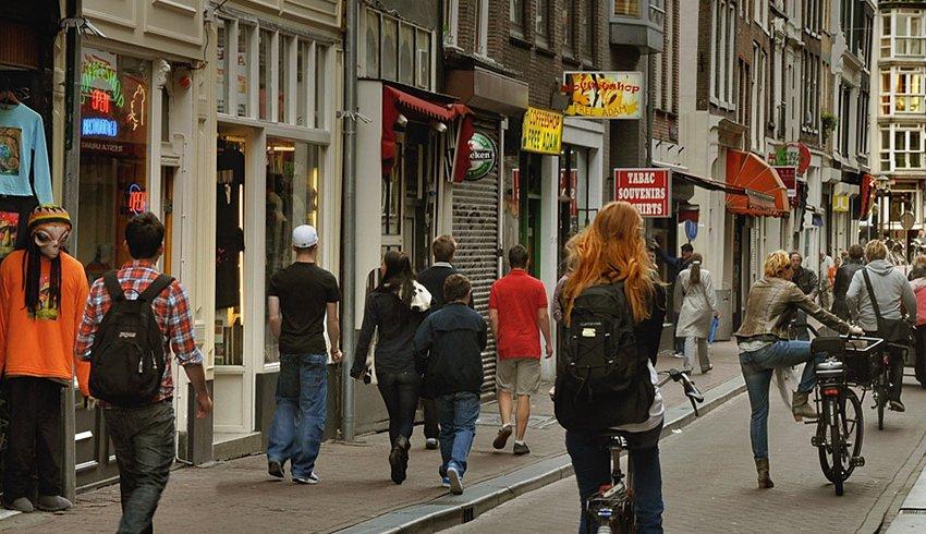 Lugares secretos en Ámsterdam: Oude Hoogstraat