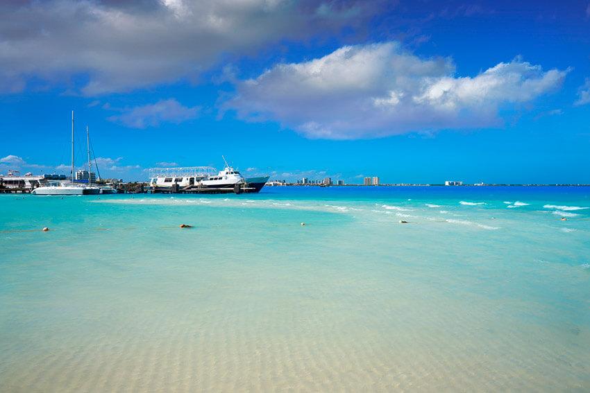 Playa Langosta, un lugar para un mochilero en Cancún