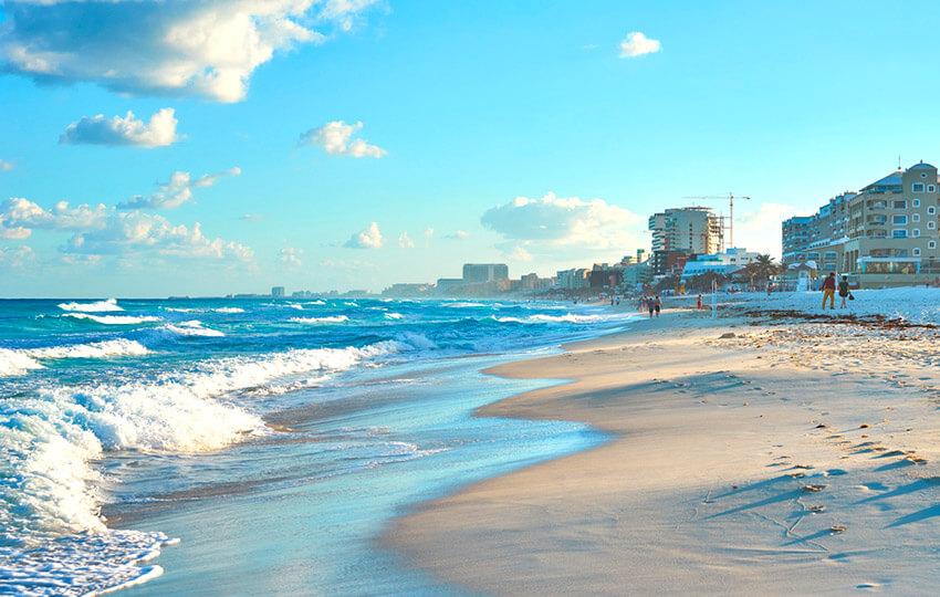 Playa Chac Mool, un lugar para un mochilero en Cancún