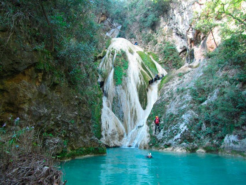 Cascada el Chipitín, uno de los escenarios de la naturaleza salvaje en México