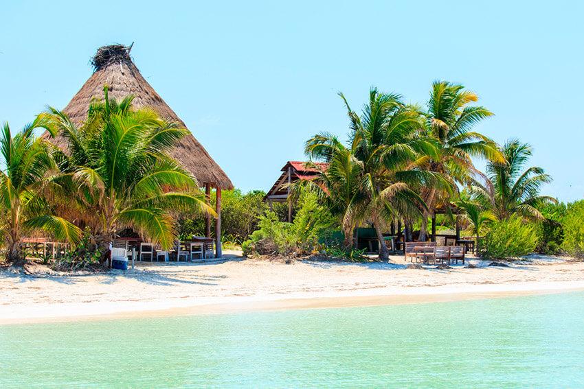 Isla Contoy, una de las playas tranquilas cerca de Cancún