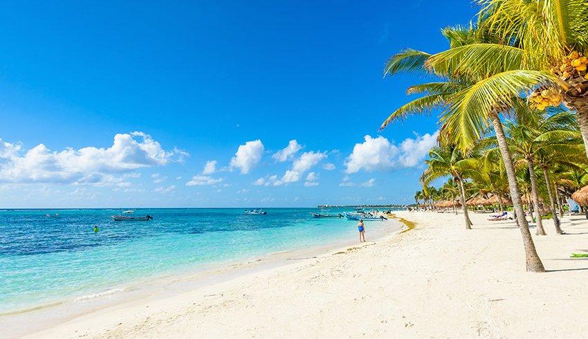 Playas tranquilas en el Caribe Mexicano para unas vacaciones perfectas