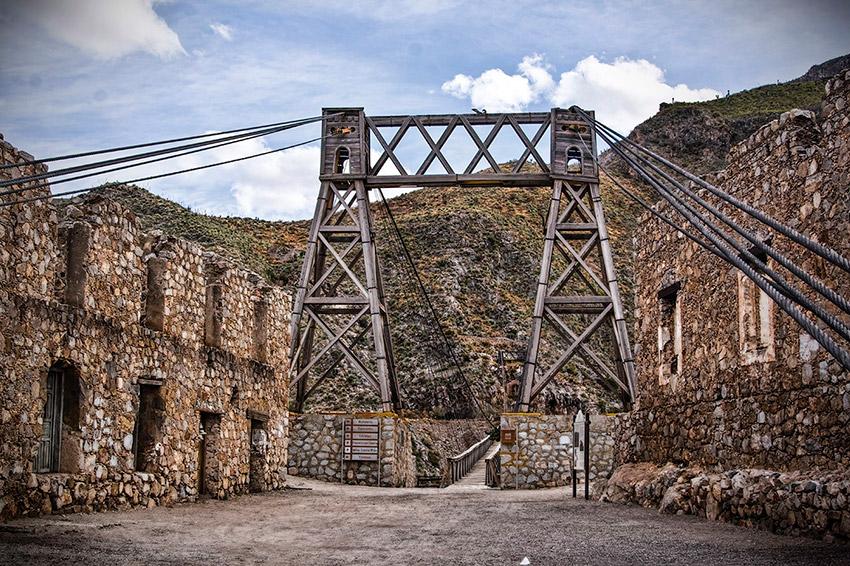 Ojuela, uno de los pueblos escondidos en México