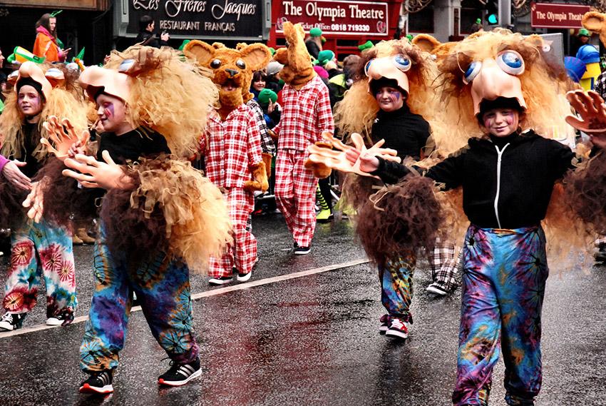 El gran desfile, uno de los actos para vivir el día de Sant Patrick en Dublín