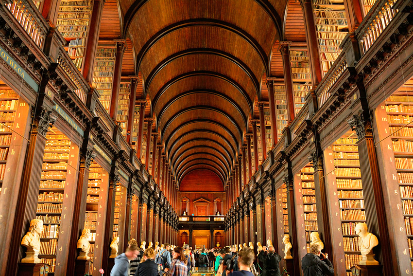 Biblioteca Nacional de Dublín, uno de los lugares para vivir el día de Sant Patrick en Dublín