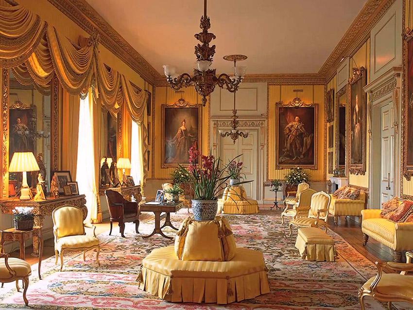 El Salón de la Música, una de las cosas que visitar en el Palacio de Buckingham
