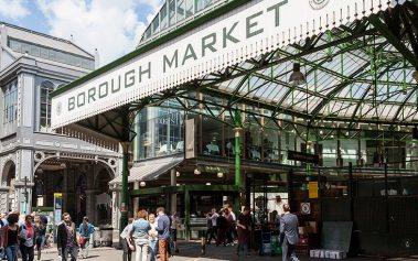 Donde comer barato en Londres: Borough Market