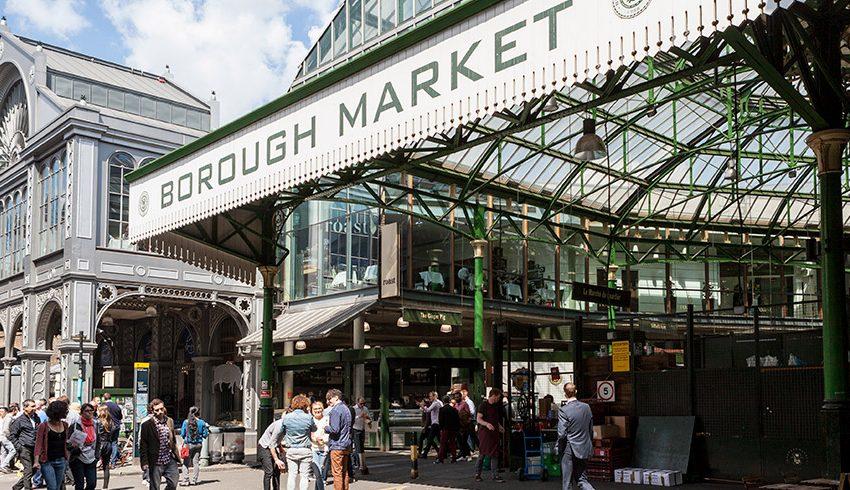 Donde comer barato en Londres: Borough Market