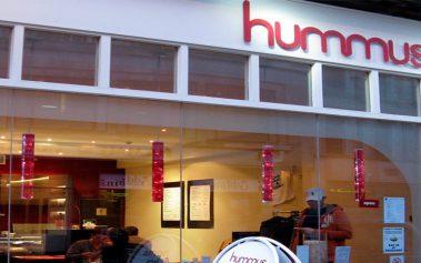 Donde comer barato en Londres: Hummus Bros