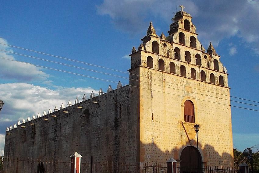 Templo de San Buenaventura, una de las iglesias y Conventos de Yucatán