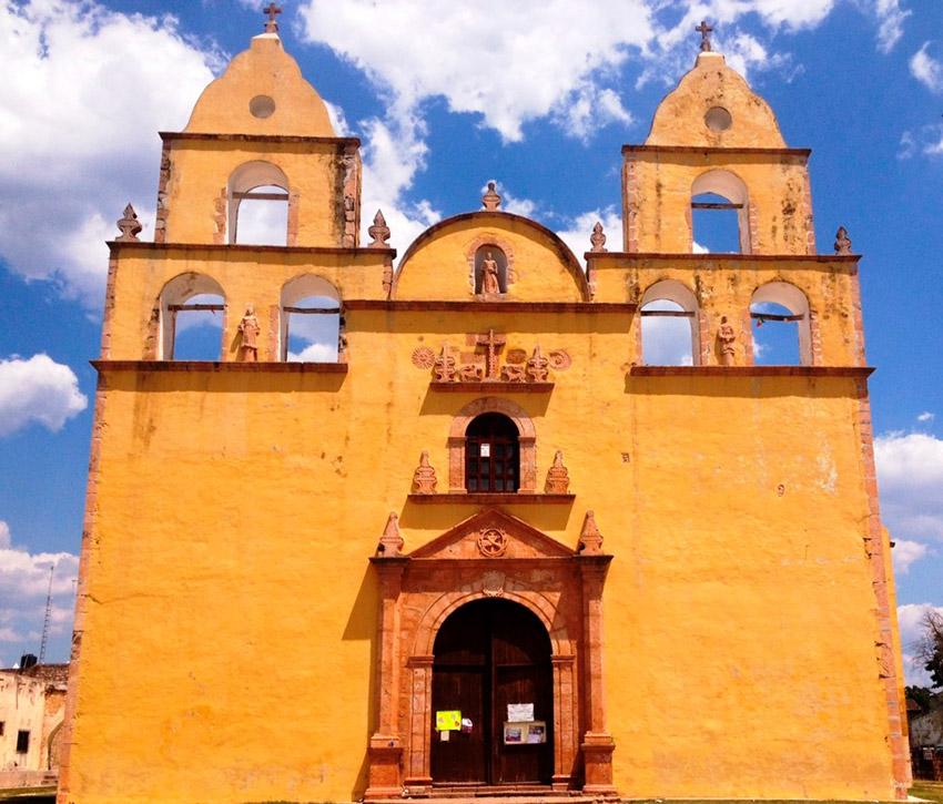 Ex Convento de San Francisco de Asís, una de las iglesias y Conventos de Yucatán