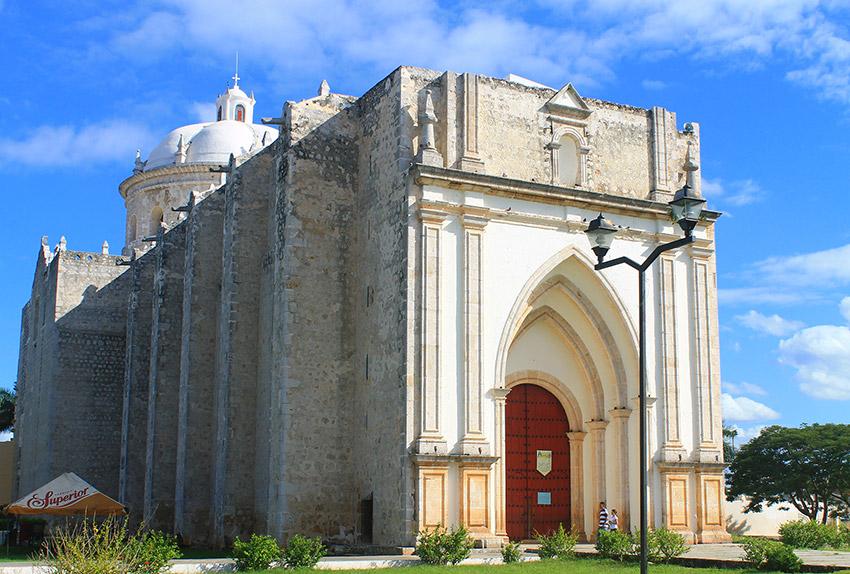 Parroquia de San Francisco de Asís, una de las iglesias y Conventos de Yucatán