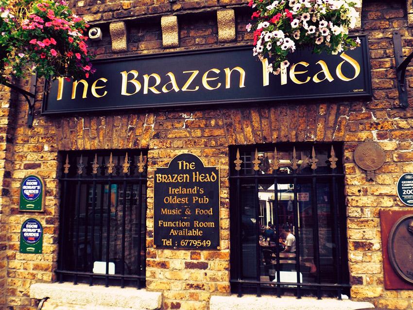 The Brazen Head, uno de los bares más antiguos de Europa