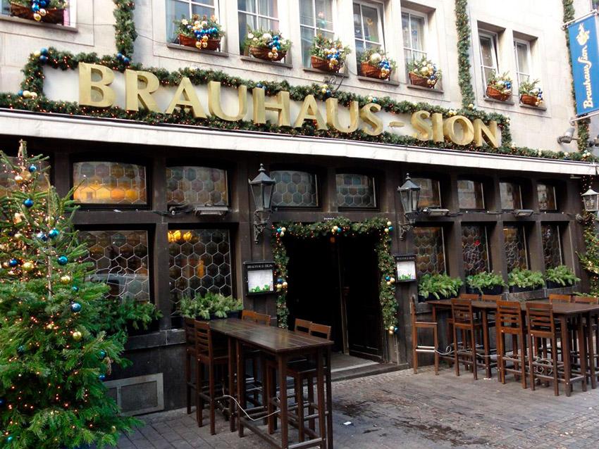 Brauhaus Sion, uno de los bares más antiguos de Europa