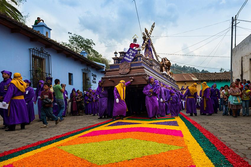 Guatemala, uno de los lugares del mundo donde vivir la Semana Santa