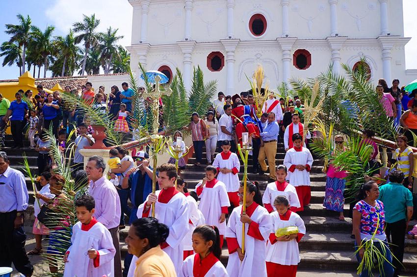 Nicaragua, uno de los lugares del mundo donde vivir la Semana Santa