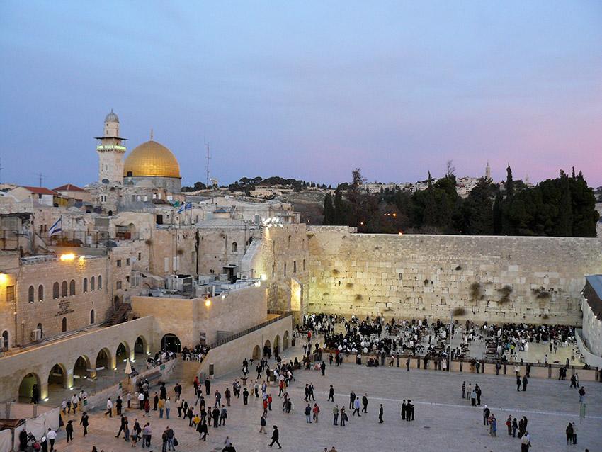 Israel, uno de los lugares del mundo donde vivir la Semana Santa