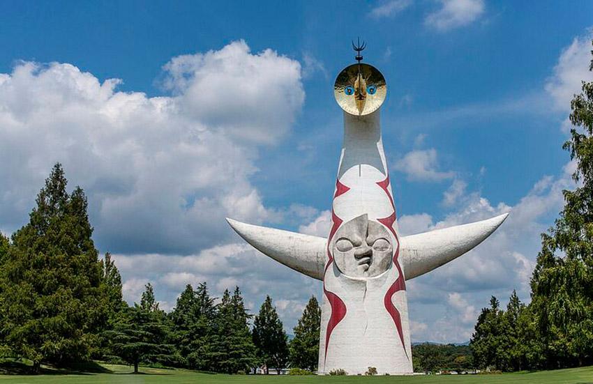 Parque Conmemorativo Expo'70, uno de los lugares para observar el Hanami