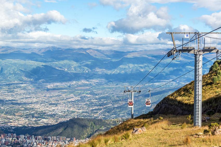 Teleférico, uno de los lugares que tienes que visitar en Quito