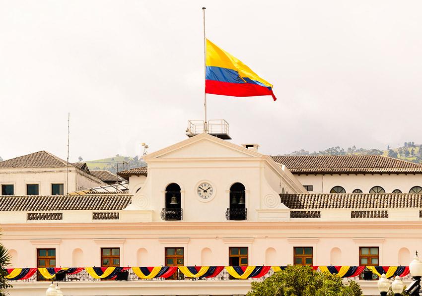 Palacio de Carondelet, uno de los lugares que tienes que visitar en Quito