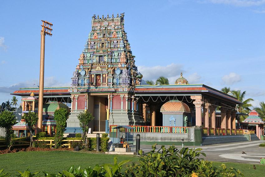 Templo de Sri Siva Subrayamaniya Swami, uno de los planes qué hacer en Fiji