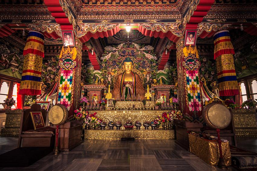 Bodh Gaya en la India, una de las rutas de peregrinaje