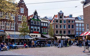 Sitios secretos en Ámsterdam: la Plaza Spui