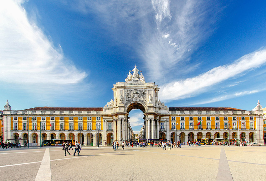 Praça do Comercio, uno de los lugares para disfrutar de Eurovisión