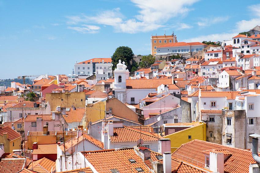 Barrio de Alfama, uno de los lugares para disfrutar de Eurovisión