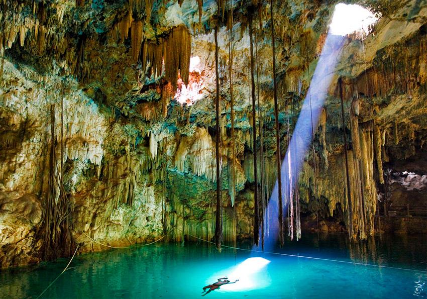 El Cenote Sambulá, uno de los cenotes ocultos de Yucatán
