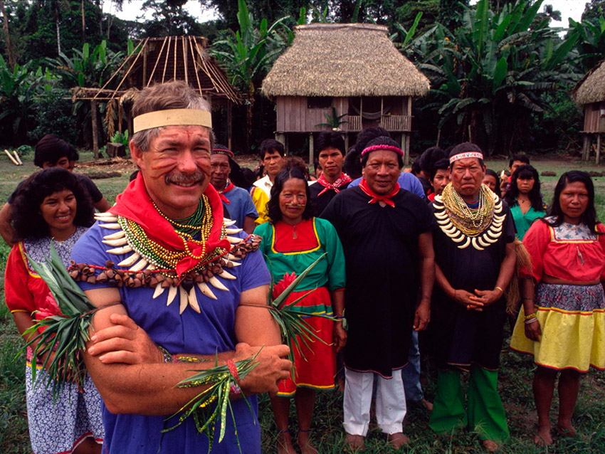 Centros culturales, uno de los paisajes del Amazonas en Ecuador
