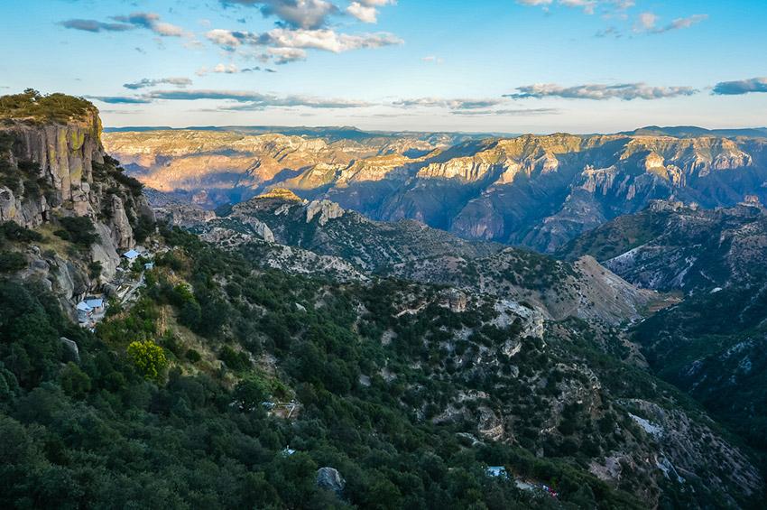 Barrancas del Cobre, uno de los lugares dónde practicar deportes de aventura en Chihuahua