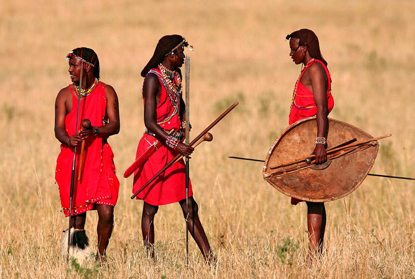 Tribu Massai, practican una de las costumbres gastronómicas extrañas del mundo