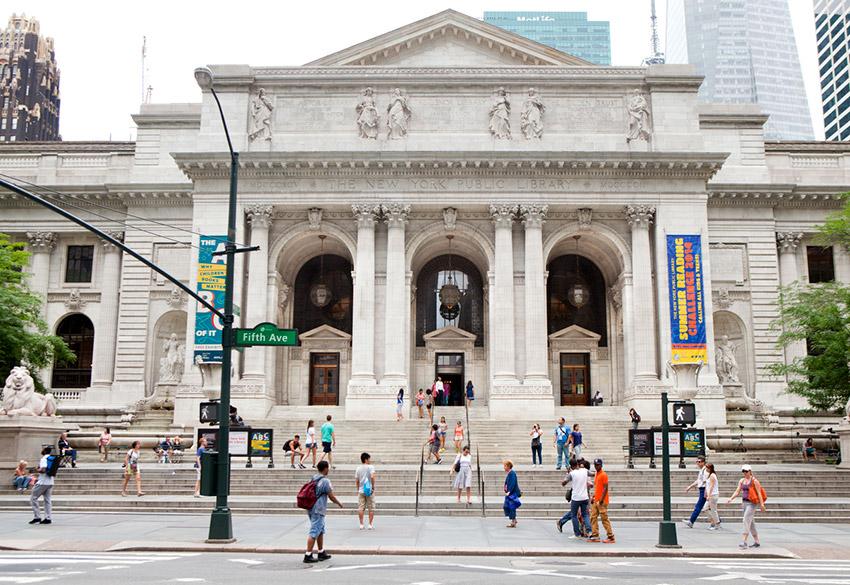 Biblioteca Pública de Nueva York, una de las bibliotecas más bonitas del mundo