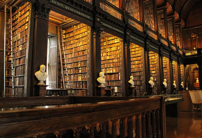 Trinity College, una de las bibliotecas más bonitas del mundo