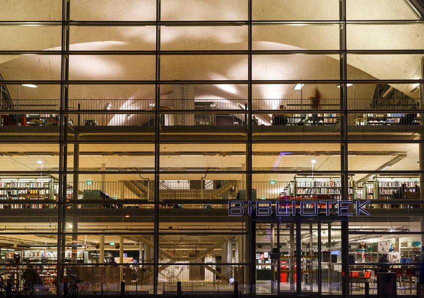 Bilioteca Pública de Trømso, una de las bibliotecas más bonitas del mundo