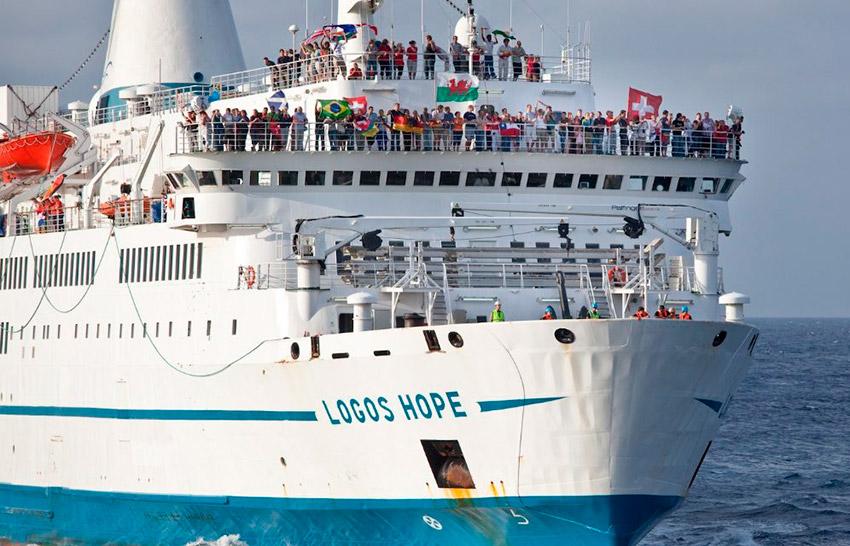 Logos Hope, la librería flotante más grande del mundo