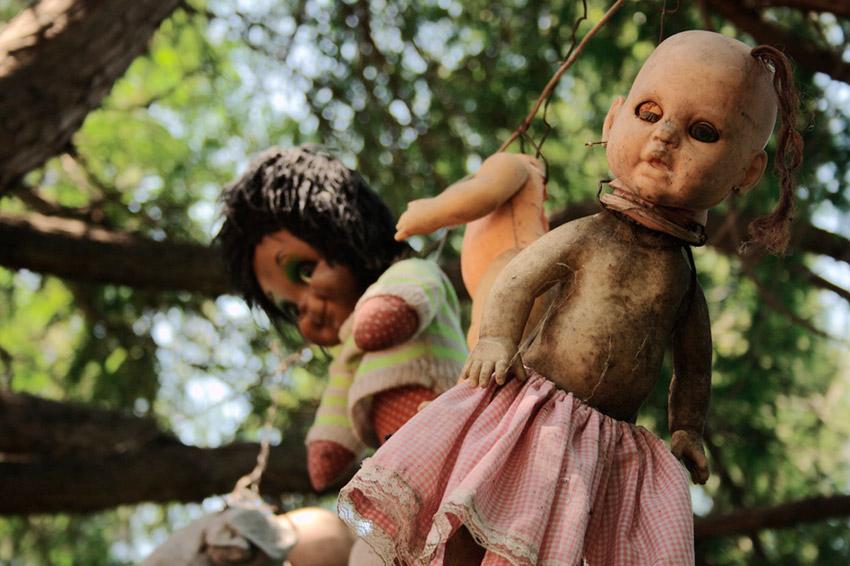 La Isla de las Muñecas, uno de los lugares terroríficos en México