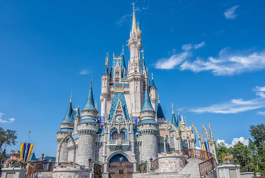 El Castillo de Cenicienta, uno de los secretos de Disney World