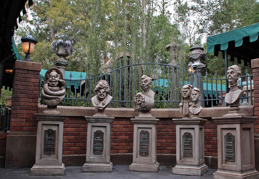 La Mansión Embrujada, uno de los secretos de Disney World