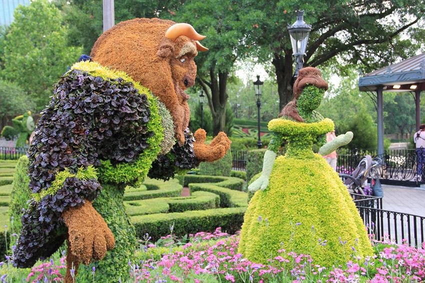 Jardines orgánicos, uno de los secretos de Disney World