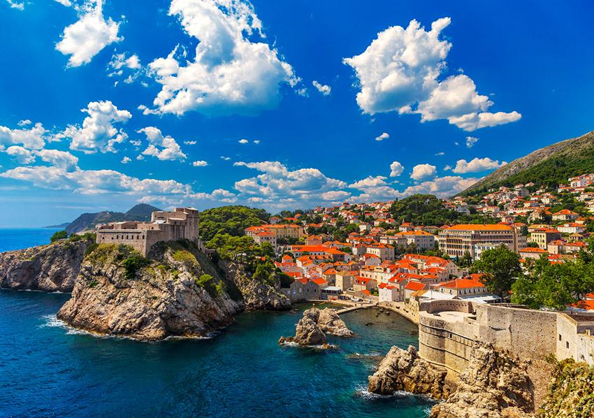 Croacia, uno de los lugares para viajar con un bebé