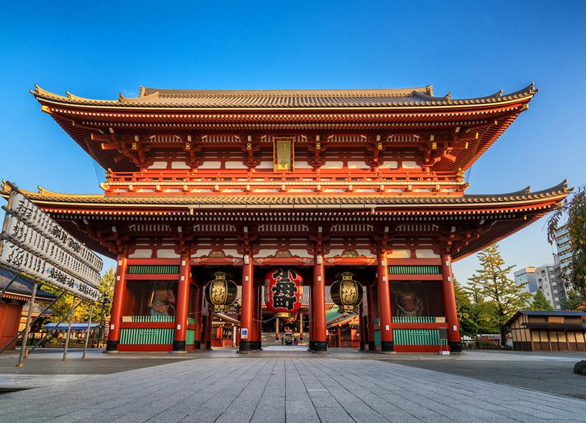 Japón, uno de los lugares para viajar con un bebé